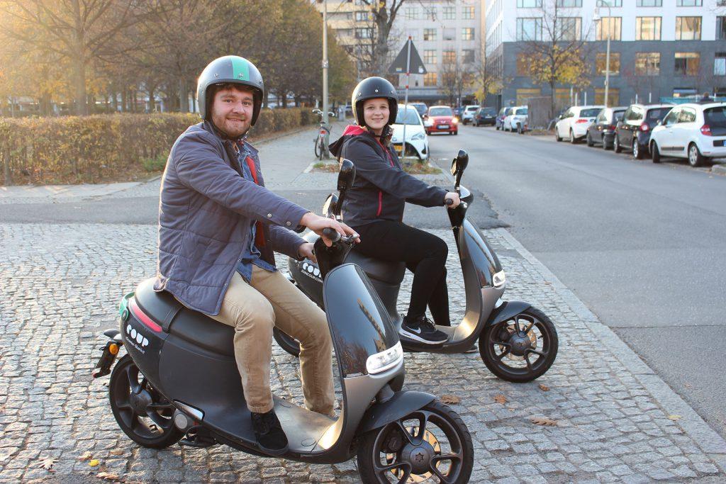 Mit COUP flitzen wir durch Berlin